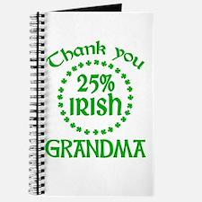 25% Irish - Grandma Journal