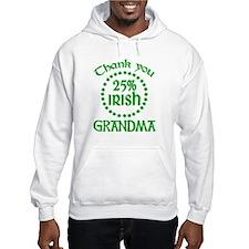25% Irish - Grandma Hoodie