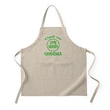 25% Irish - Grandma BBQ Apron