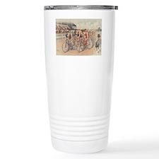Cycling Race Travel Mug