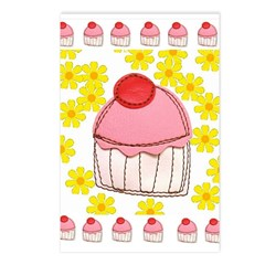 Cutie Cupcake Postcards (Package of 8)