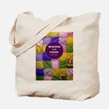 Puffy Quilt Tote Bag