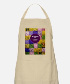 Puffy Quilt BBQ Apron