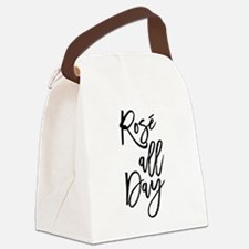 Rose All Day Canvas Lunch Bag