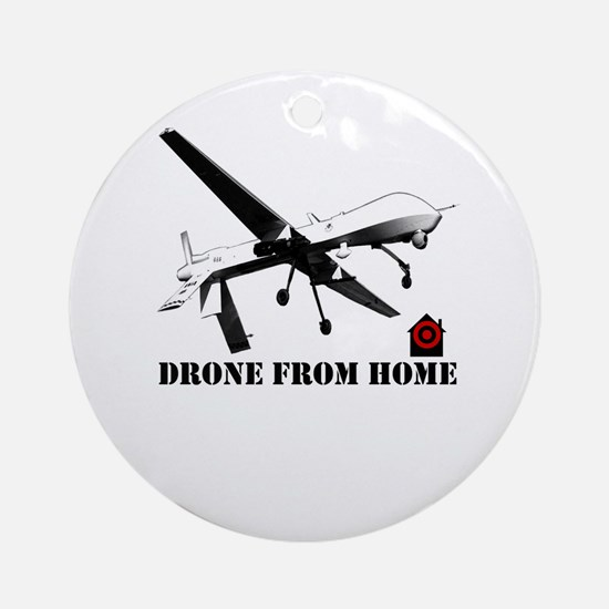 drone from home Ornament (Round)
