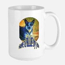 """Blue By You"" Large Mug"