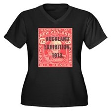 New Zealand 1913 Auckland Women's Plus Size V-Neck