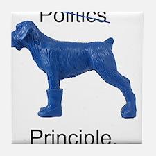 Unique Blue dogs Tile Coaster