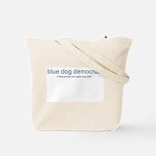 Unique Blue dog democrats Tote Bag