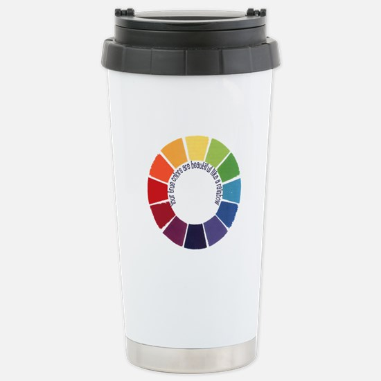 True Colors (US) Stainless Steel Travel Mug