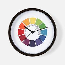 True Colors (US) Wall Clock