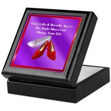 Right Shoes Keepsake Box