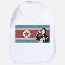 Vintage North Korea Bib