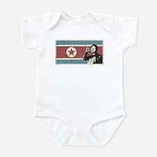 Vintage North Korea Infant Bodysuit