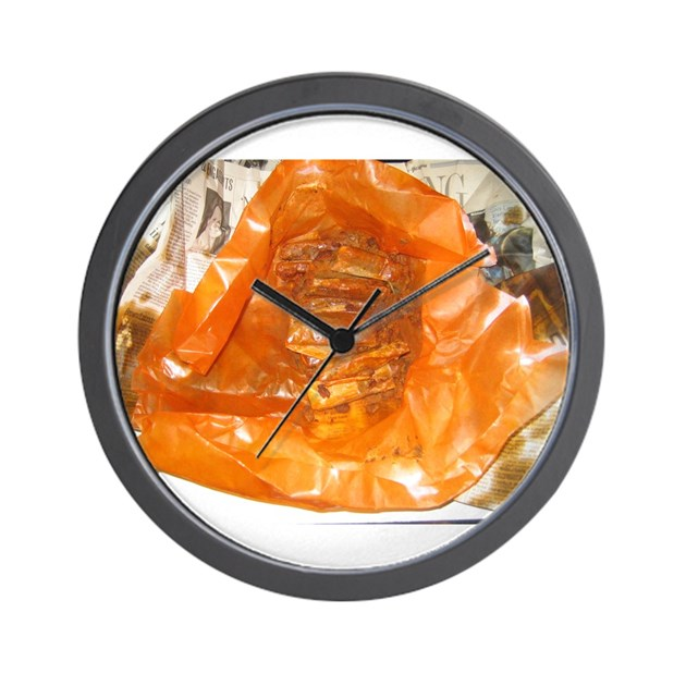 new orleans style hot tamales wall clock by mrlake