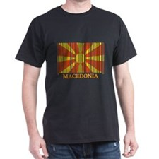 Barcode Macedonia Flag T-Shirt