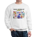 ObamaCare Simplified Flow Chart Sweatshirt