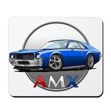 Blue AMX Mousepad