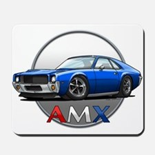 Blue AMX Mousepad