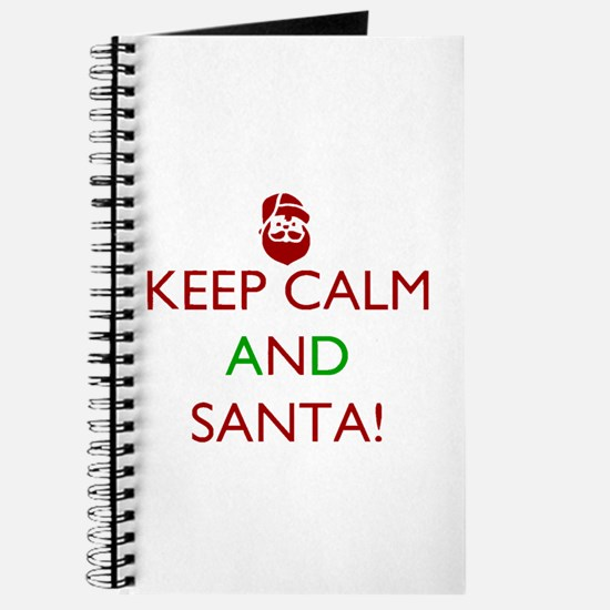keep calm and Santa Journal