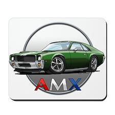 Green AMX Mousepad