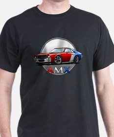 Red, White & Blue racing AMX T-Shirt