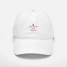 keep calm and Santa Hat