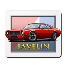 Red Javelin Mousepad