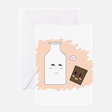 Milk Chocolate Love Greeting Card