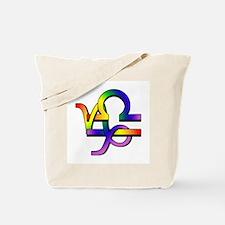 GLBT Capricorn & Libra Tote Bag