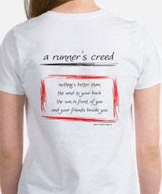 A Runner's Creed Women's T-Shirt