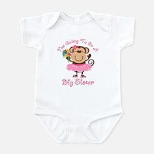Monkey Future Big Sister Infant Bodysuit