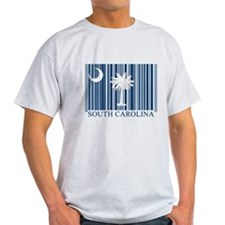Barcode South Carolina Flag T-Shirt