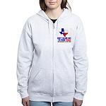 I'm From Texas Women's Zip Hoodie