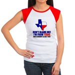 I'm From Texas Women's Cap Sleeve T-Shirt