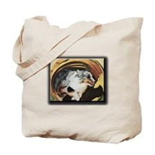Unique Shetland sheepdog agility Tote Bag