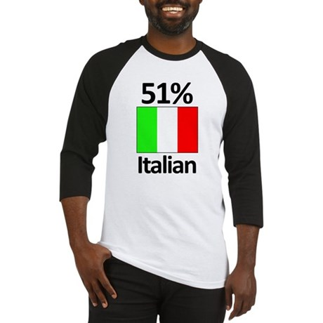 51% Italian Baseball Jersey