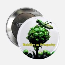 "Little Grasshopper - nobility 2.25"" Button"