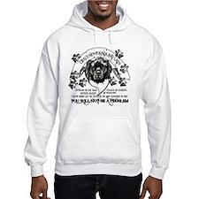Crazy Newfoundland Lady Hoodie Hoodie Sweatshirt