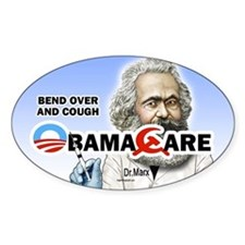 Obama Care - Dr. Marx Oval Decal