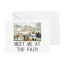Country Fair Greeting Card