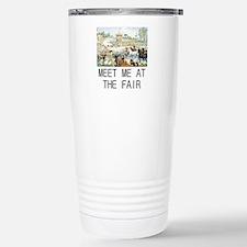 Country Fair Stainless Steel Travel Mug