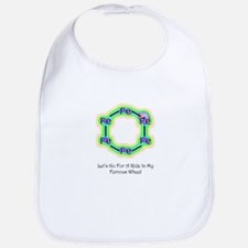 Funny chemistry shirts and chemist gifts Bib