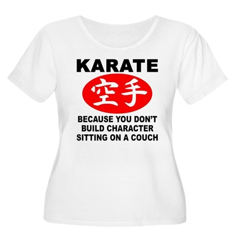 Karate Women's Plus Size Scoop Neck T-Shirt