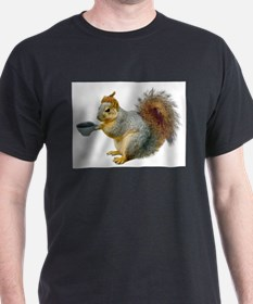 Beatnik Squirrel T-Shirt