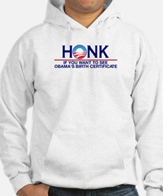 Obama Birth Certificate (Birther) Hoodie