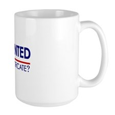 Undocumented Obama (Birther) Mug
