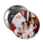 Sheltie Christmas with Santa 2.25