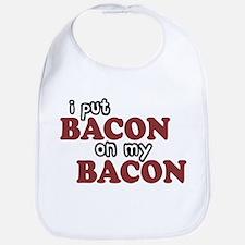 Bacon on Bacon Bib