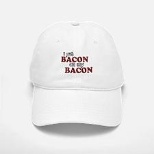 Bacon on Bacon Baseball Baseball Cap